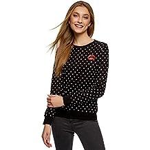 0c870c5b8 oodji Ultra Mujer Suéter Estampado de Algodón