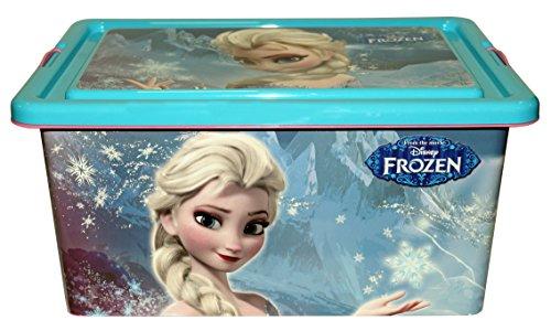 Frozen - Contenedor 13 litros con tapa y cierres, caja organizadora (Stor 04385)