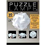 Puzzle Lampe - Grösse XXL - im Geschenkkarton mit Kabel