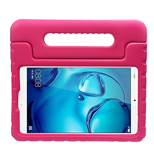 8.4 Fall stoßfest Cabrio Griff Stand Schutz EVA-Schaum Kids Schutzhülle für Huawei M3 8.4 Android Tablet rosarot (Film Kostüm Design Schule)