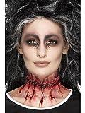 Smiffys Zugenähte Narbe aus Latex mit Klebemittel Halloween Kostüm Zubehör