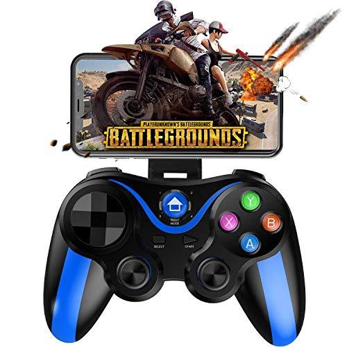 Mobile Gamepad Controller, Megadream Key Mapping Gaming Joysticks Trigger für PUBG/Regeln des Überlebens & mehr Schießen Kampf Rennspiel für 10,2-15,2 cm Android iOS Handy - Direct Play