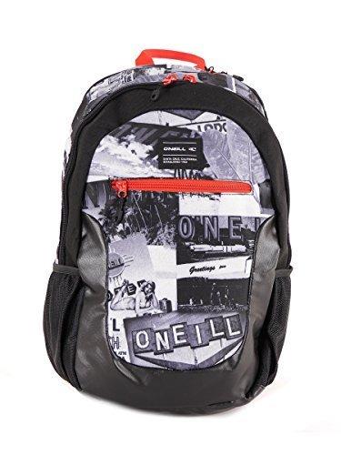 O 'Neill Mochila Backpack Ledge Negro compartimento acolchado para portátil 30L)