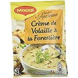 Maggi Soupe Instantanée Saveur à l'Ancienne Crème de Volaille à la Forestière 14 x 64 g
