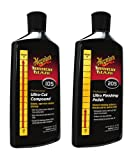 Meguiar's Meguiars Kit de polissage de finition ultra-cut compound + ultra finishing polish M205