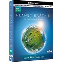 Planet Earth II (2 Blu-Ray + 2 UHD 4K) con Copertina Lenticolare