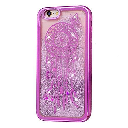 Qiaogle Telefon Case - Weiche TPU Case Silikon Schutzhülle Cover für Apple iPhone 6 Plus / iPhone 6S Plus (5.5 Zoll) - HIX03 / Eule HIX10 / Dreamcatcher