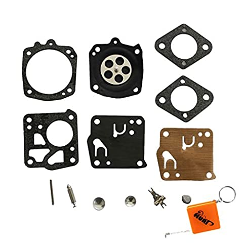 HURI Carburettor Diaphragm Repair Kit Replace Tillotson RK-23HS Fits Husqvarna 61 65 77 162 181 185 266 268 272 281 288m 480 1100 2100 and many HS model 2-cycle Tillotson