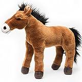 Pferd SHY BOY Mustang Warmblut 42 cm Plüschtier von kuscheltiere.biz