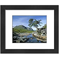 Framed 10x8 Print of The Three Sisters of Glencoe (1188270)