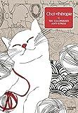 Chat thérapie: 100 coloriages anti-stress