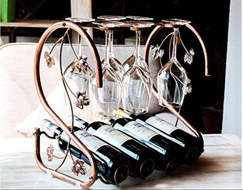Weinregal, im europäischen Stil Weinregal, Flaschenregal, Dekoration