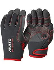 2016 Musto Performance Winter Long Finger Gloves BLACK AS0594 Sizes- - Small