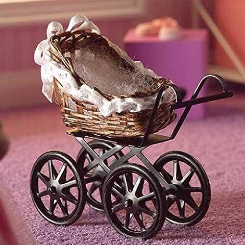 Dolls House Miniature 1:12th Scale Dolls Toy Pram