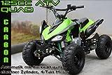 ATV Quad 125ccm Carbon Automatik mit Rückwärtsgang, einzelner Zylinder, 4-Takt