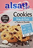 Alsa Préparation pour Cookies Noix de Coco/Pépites de Chocolat 250 g