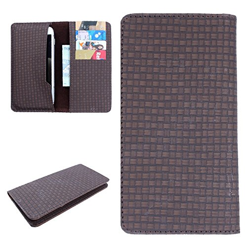 For Micromax Bolt A068 - DooDa PU Leather High Quality Pouch Case Cover Sleeve With Card Slots, Scratch-Free Soft Inner Velvet With Complete Drop Protection  available at amazon for Rs.199