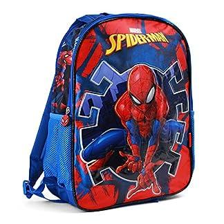 517IIVtwvEL. SS324  - Karactermania Spiderman Hero Mochila Infantil, 41 cm, Azul