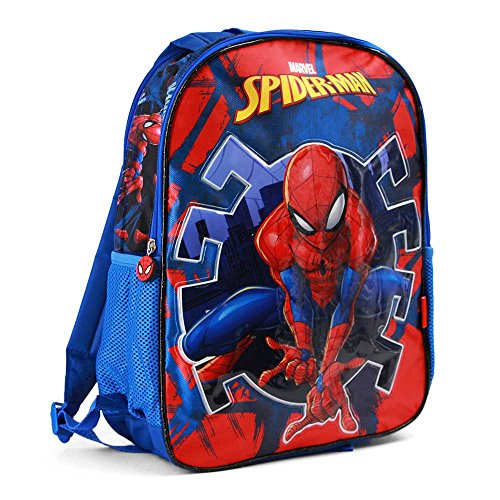 Karactermania Spiderman Hero-Dual Backpack Sac à Dos Enfants, 41 cm, 14.5 liters, Bleu (Blue)