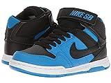 Nike Herren Mogan Mid 2 Jr B Skateboardschuhe, Mehrfarbig (Photo Blue/Black/White 404), 38.5 EU