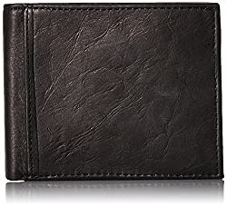Fossil Black Mens Wallet (ML3784001)
