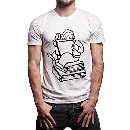 Fall Out 4 Computer Game Art Shooting Image Intelegence Herren T-Shirt Weiß