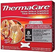 THERMACARE Parche Térmico Terapéutico - 3 parches - Adaptable a Cualquier Parte del Cuerpo - Alivio Prolongado