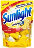 Sunlight Auto Dish Power Pacs with Lemon...