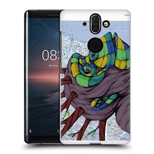 Head Case Designs Offizielle RIC Stultz Neugeist-Bewegung Tiere Ruckseite Hülle für Nokia 8 Sirocco