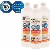 30 x 1L bioéthanol de cheminée à 96,6% dénaturé - FRAIS DE PORT OFFERT - qualité certifiée - bouteilles de 1 L