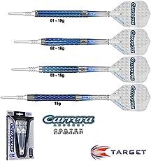 Darts TARGET Carrera Azzurri Cortex 90% Tungsten Softdarts
