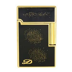 B 1006derui Motif moucheté poche noir mat de luxe de meulage Briquet