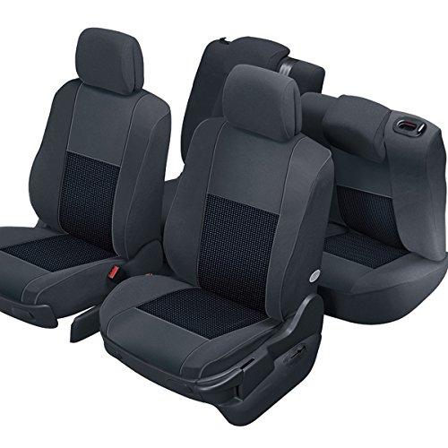 DBS 1011723 Coprisedili Auto / Vettura - Su Misura - Rifinizioni Alta Gamma - Montaggio Rapido - Compatibile Airbag - Isofix