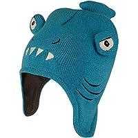Dare 2b Look out II Beanie Kids Winter Hat Accesorio para la Cabeza, Infantil, Fluro Blue (Shark), Size 7-10