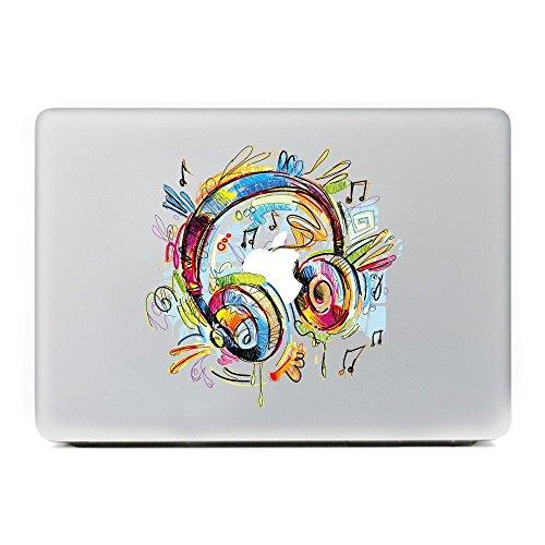 Macbook für Aufkleber, Stillshine Super dünn Removable Bunte Muster Sticker Aufkleber Skin für Apple MacBook Pro / Air 13