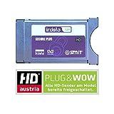Smit Irdeto CI + modulo per schede ORF e HD Austria Secure CAM per Ice con buono per 1mese hdau Stria