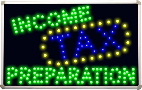 led082-income-tax-preparation-led-neon-sign