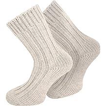 HerrenThermo  Socken 70/% Wolle Kuschelsocken extrem warm mit Umschlag 39 bis 50