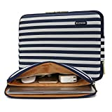 Best Apple 11 Inch Laptops - KAYOND Blue stripes Water-resistant 11 inch laptop sleeve Review