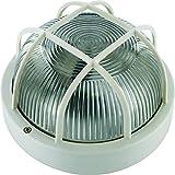Elro BE100W Applique de Sécurité avec Protection Blanc