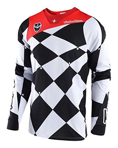 Troy Lee Designs SE Joker Jersey M Weiß/Schwarz Troy Lee Designs Se Jersey