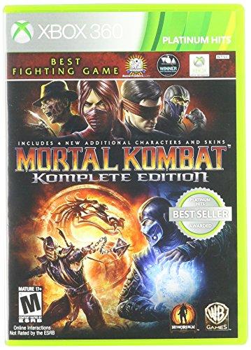 WARNER HOME VIDEO - GAMES 1000276113 Mortal Kombat Komplete Edition XBOX 360