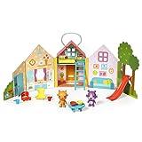 Sago Mini 6041226Jinja S House Portable Playset