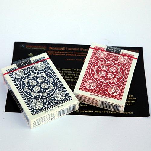 2-due-mazzi-di-carte-tally-ho-fan-back-dorso-rosso-e-blu-con-omaggio-esclusivo-firmato-solomagia