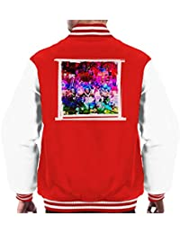 Mirrorpix Willy Wonka and The Chocolate Factory Oompa Loompas On Set Men's Varsity Jacket