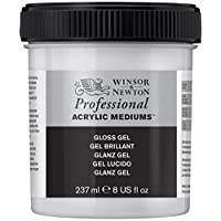 Winsor & Newton Professional Acrylic Medium Gloss Gel, 237ml