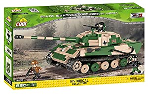 COBI - Tiger II, Tanque, Color Beige (2480)