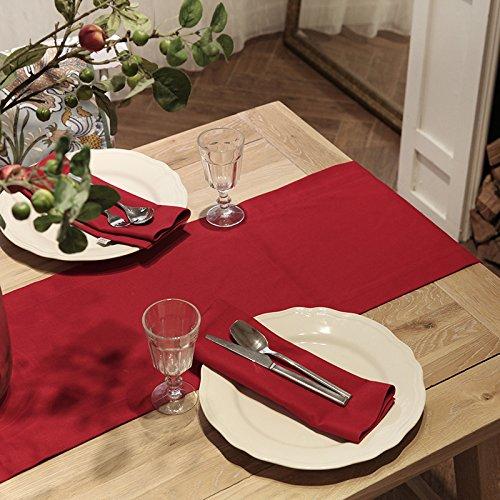 RUGAI-UE Place-Tapis mosaïque américaine Couleur Double épaisse Festive de Mariage Cadeau Cadeau Table de Table personnalisée, 35乐 35 * 200cm