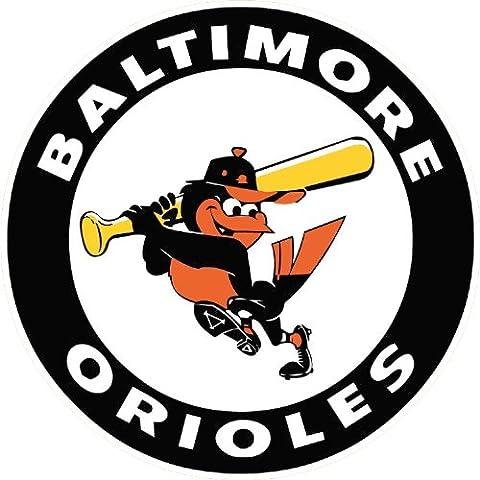 Baltimore Orioles Logo MLB Baseball Car Bumper Sticker Decal 12 x 12 cm