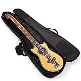 Lindo Noir Housse de transport rembourrée pour Voyager-Guitare électro-acoustique